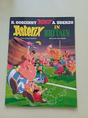 Asterix In Britain - Softcover- Goscinny And Uderzo Vg