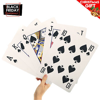 """8"""" X 11"""" Super Big Giant Playing Cards – Novelty Jumbo Cards"""