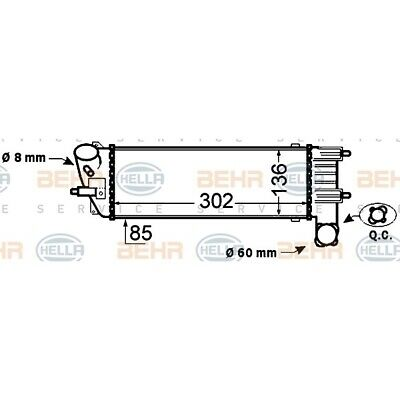 Ford Focus Mk2 ST225//RS MAP Capteur Extension Loom