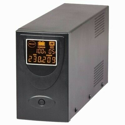 650VA/390W Line Interactive UPS with LCD and USB