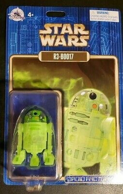 Disney Parks Star Wars Droid Factory R3-B0017 Astromech Droid Holiday Halloween