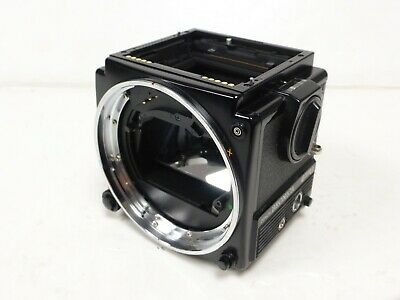 Bronica ETRSi camera body - No focusing screen or rapid winding crank - Used