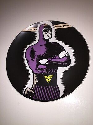 The Phantom Collectors Plate Made By Monkeys Of Melbourne 1994 26cm Rare!