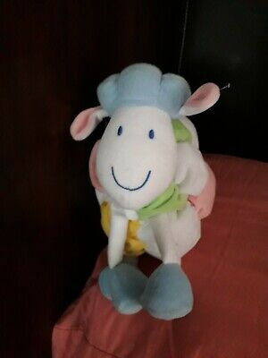 Marks And Spencers Coloured Sheep Rattle