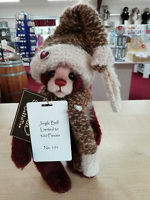 SPECIAL OFFER! 2018 Charlie Bears Isabelle Mohair JINGLE BELL (101/300) RRP £125