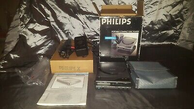 Philips D6800 Portable Compact Disc Player. Retro.