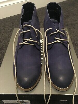 Womens Shoes Size 39 - Navy Lace Up Ankle Boot
