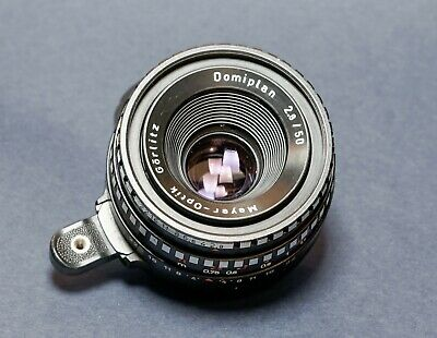 Meyer Optik Gorlitz Domiplan f2.8 50mm manual focus lens EXA Mount