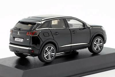 PEUGEOT 3008 GT de 2016 Noir Voiture de Collection NOREV 1/43