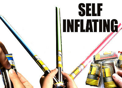 Self Inflating Star Light Saber Wars Toy Boys Fun Birthday Party Bag Fillers