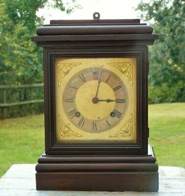 Antique Ansonia Mantle clock working spares repair restoration ~ no key