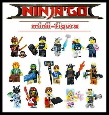 NINJAGO JOBLOT x15 KAI  LlOYD  ZANE- GARMADON etc MOVIE set - fits lego figure