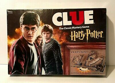 2016 Harry Potter Clue The Classic Mystery Game Hasbro Usaopoly