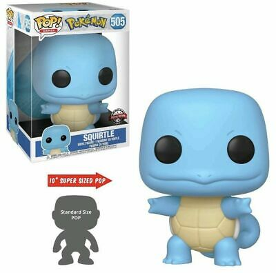 """Funko Pop Pokemon GAMES 10"""" 10 INCH Squirtle Target Exclusive Preorder"""