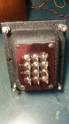 Vintage Hammond Power Transformer (Tube circuits)