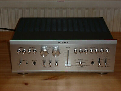 SONY TA-1150 amplifier with the incredible sound of early 70'S