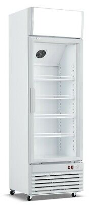 glass door upright drinks cooler display Fridge  380 ltrs free delivery UK