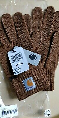 Carhartt  Wip Watch Glove - Hamilton Brown - Adults Gloves - Bnwt - Usa Michigan