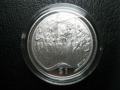 New Zealand 2003 $1 Silver Proof Coin ~ Lord of the Rings ~ Council of Elrond