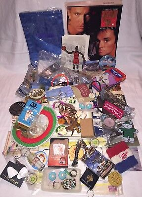 Vtg, New & Old JUNK DRAWER LOT Keychains, Cards, Magnets, Jewelry, Misc+++ [#2]