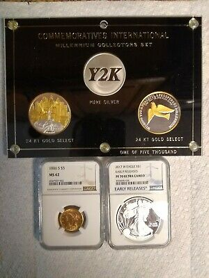 Massive Coin Lot, Collection Silver, Gold