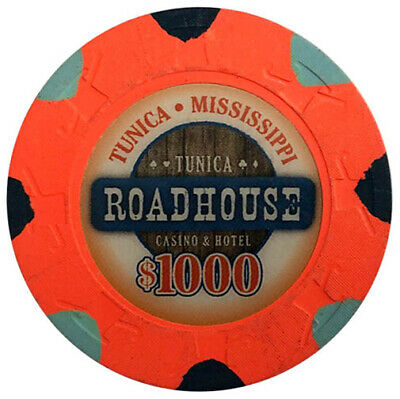 $1000 Roadhouse Casino Paulson Poker Chip