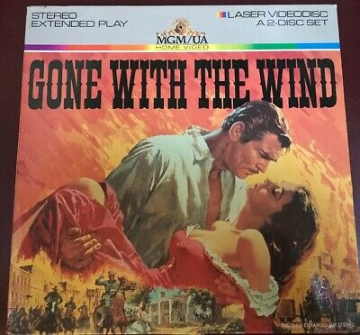 Gone With The Wind Laserdisc
