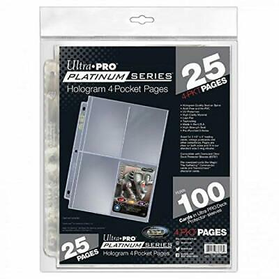 """Ultra Pro 8.5/""""X11/"""" Refill Pages 10//Pkg-For 4/""""X6/"""" Photos"""