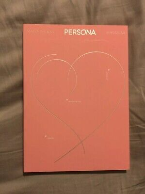 BTS Map Of The Soul - Persona Version 02 (CD, 2019) CD & Book Only + Gift