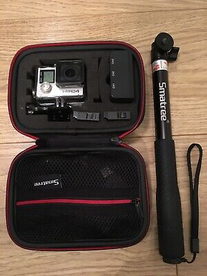 GoPro Hero4 Black Edition 64 GB Camcorder - Silver + Lots of Extras🙌