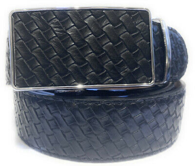 Womens Designer Belts New Black Checked Leather Automatic Belt For Women Ladies