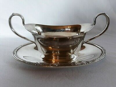 International Silver Company Gravy Boat Camille 6013 Excellent Used Condition