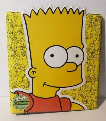 SIMPSONS Anniversary Celebration Official Trading Card Padded Binder Inkworks