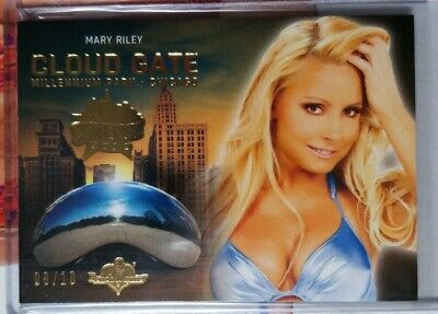 2019 Benchwarmer MARY RILEY 40th National Cloud Gate Gold Foil #'d 8/10