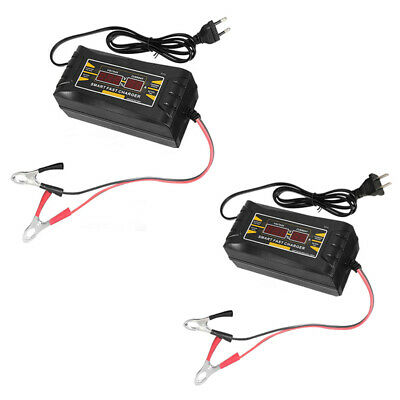 Car Battery Charger 12V 6A 10A Intelligent Full Automatic Auto Smart Fast Z9X8