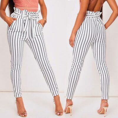 Casual Skinny Long Pants Jeggings Trousers Pencil Women's New Ladies High Waist