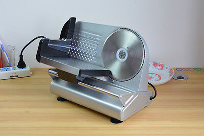 7.5inch Blade Commercial Electric Meat Deli Slicer Kitchen Veggies Food Cutter