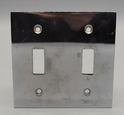 Chrome Metal Switchplate Cover