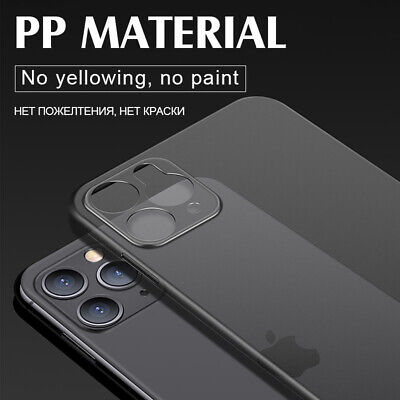 Shockproof Ultra Thin Matte Frosted Hard Back Case Cover For iPhone 11 Pro Max X