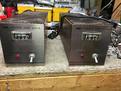 Pair of Southwest Technical  Products 207/A mono amps