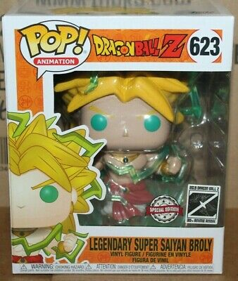 Funko POP Dragon Ball Z Galactic Toys Exclusive 6 Inch Broly!!!