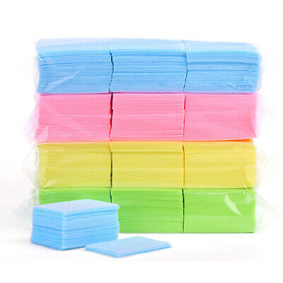 Cotton Nail Wipes Pads Removing UV LED Gel Varnish Dust Lint Free Cleaner