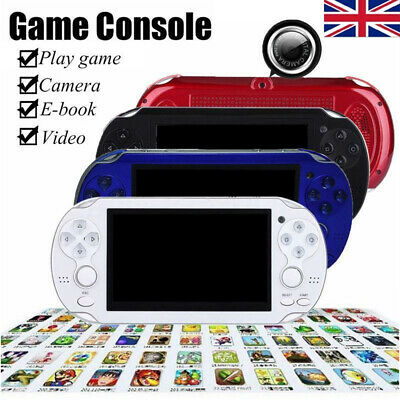 4.3'' 8GB 32Bit 10000 Games Built-In Handheld MP5 Video Game Console Portable UK