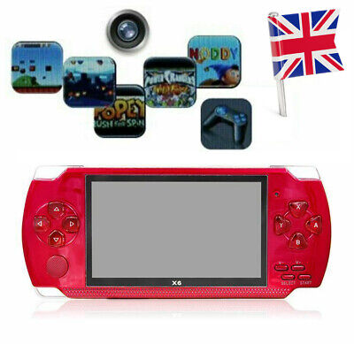8GB 4.3in 32 Bit Portable Handheld Game Console Video Player Built-In FUN Game