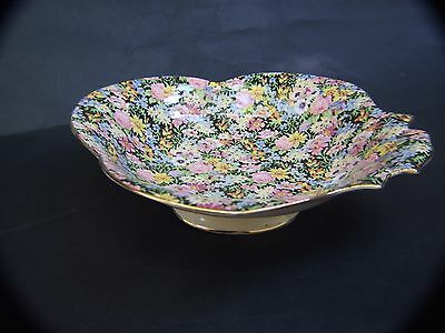 ROYAL WINTON GRIMWADES Bowl '' BALMORAL''Floral All Over Vintage 1930's