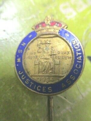 Nsw Justices Association Badge -More Listed