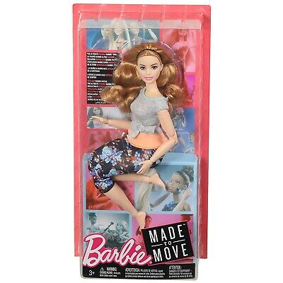 MATTEL FTG84 - Barbie - Made to Move Puppe, Blond Strawberry
