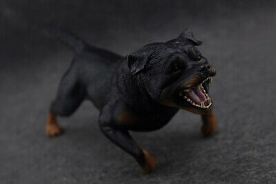 1//6 Soldier model accessories,Roaring Rottweiler Police dog
