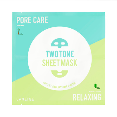 Laneige Two-Tone Sheet Mask (Pore Care & Relaxing)