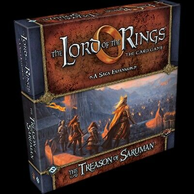 Lord of the Rings LCG Expansion The Treason of Saruman